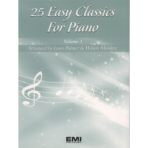 25 Easy Classics For Piano Book 3 (Softcover Book)