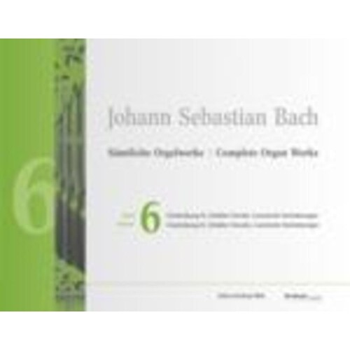 Bach - Complete Organ Works Vol 6 Book/CD-Rom (Softcover Book)