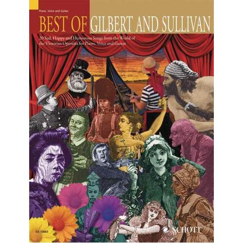 Best Of Gilbert And Sullivan PVG (Softcover Book)
