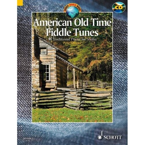 American Old Time Fiddle Tunes Book/CD (Softcover Book/CD)