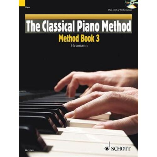Classical Piano Method 3 Softcover Book/CD