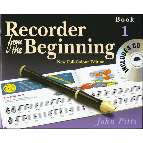 Recorder From The Beginning Pupils Book 1 Book/CD Rev (Softcover Book/CD) Book