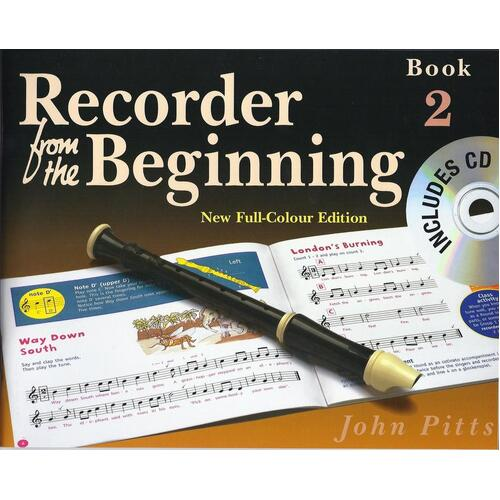 Recorder From The Beginning Pupils Book 2 Book/CD Rev (Softcover Book/CD) Book