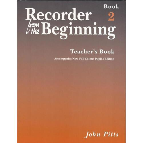Recorder From The Beginning Teachers Book 2 Rev (Softcover Book)