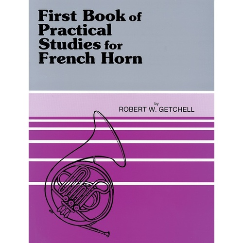 1st Book Of Practice Studies French Horn