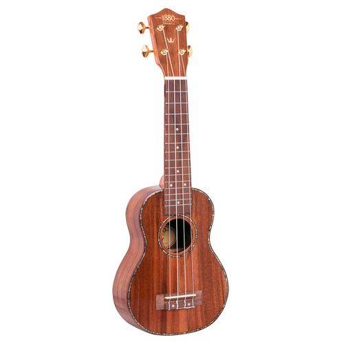 1880 Ukulele Co. 300 Series Soprano Ukulele (Natural)