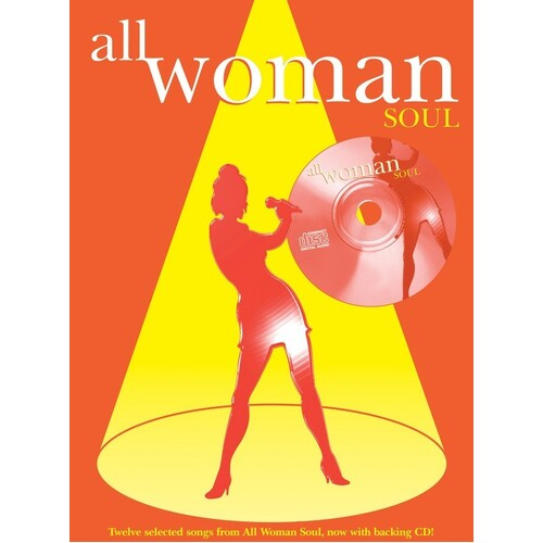 All Woman Soul PVG/CD (Softcover Book/CD)