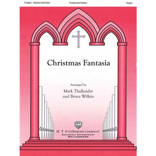 Christmas Fantasia Organ Solo Book