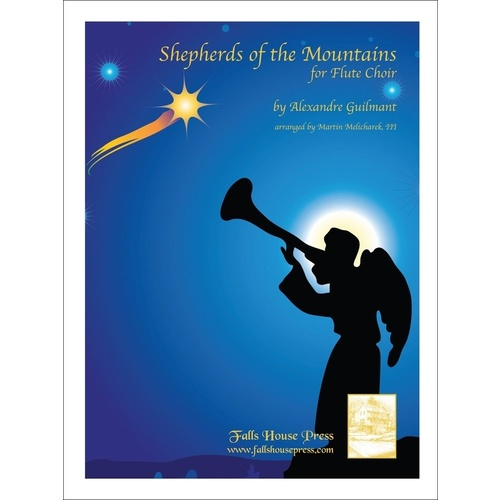 Shepherds Of The Mountains Flute Choir Book