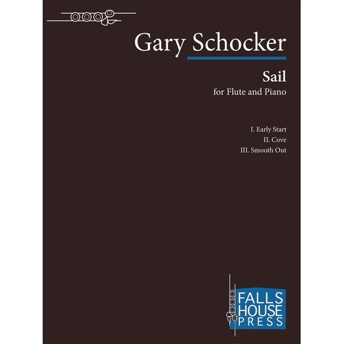 Schocker - Sail For Flute/Piano (Softcover Book)