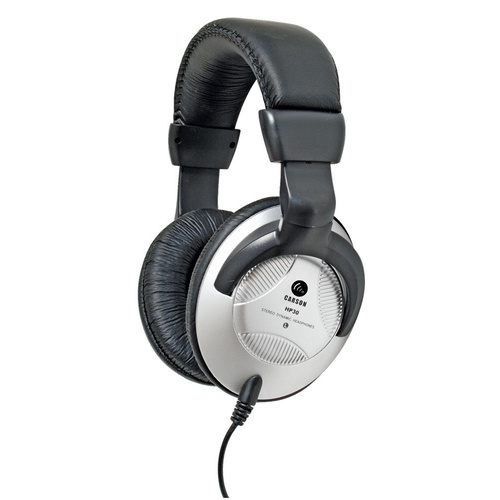 CARSON HP30 Dynamic Stereo Studio Headphones Lead + Adaptor  Super Bass