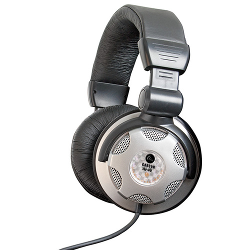 CARSON HP40 DJ Studio Headphones  Includes lead + adaptor