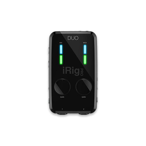 IK Multimedia iRig Pro Duo iOS/Android Audio Interface
