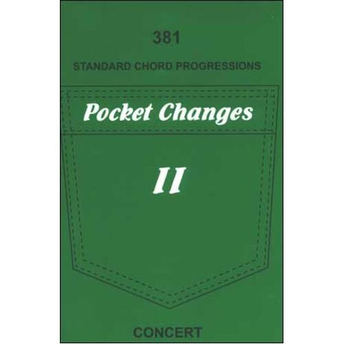 Pocket Changes Book 2 381 Std Chord Progressions (Softcover Book)