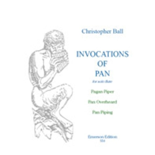 Ball - Invocations Of Pan Flute/Piano (Softcover Book)
