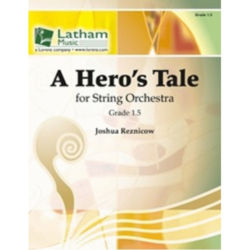 A Heros Tale So1.5 Score/Parts Book