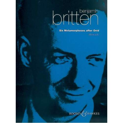Britten - 6 Metamorphoses After Ovid Op 49 Oboe (Softcover Book)