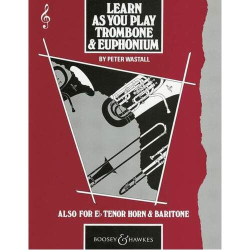 Learn As You Play Trombone And Euphonium Tc (Softcover Book)