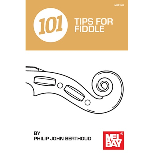 101 Tips For Fiddle Book Book
