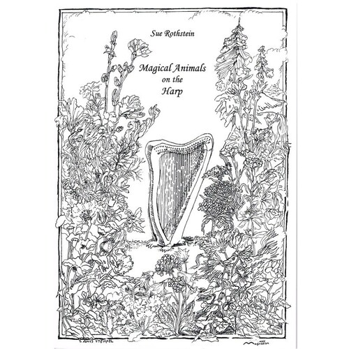 Rothstein - Magical Animals On The Harp (Softcover Book)