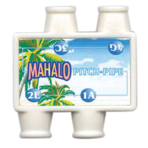 Mahalo UKULELE PITCH PIPE - KEY of C ()