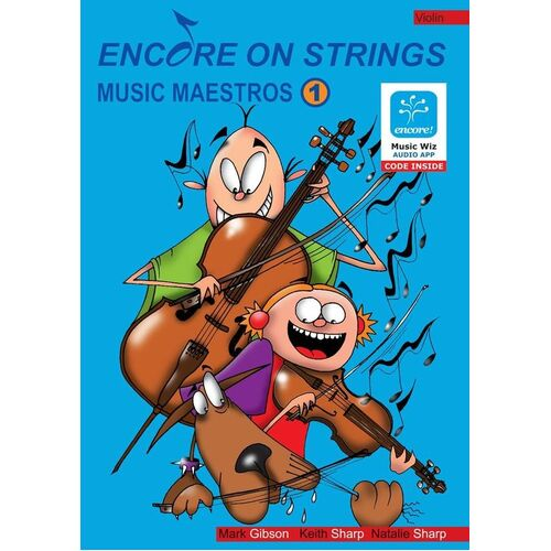 Encore On Strings Violin Lvl 1 Book/CD/Midi (Softcover Book/CD)