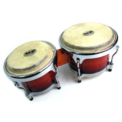 Mano Percussion Bongos Professional Cuban Style 7 Inch + 8 Inch