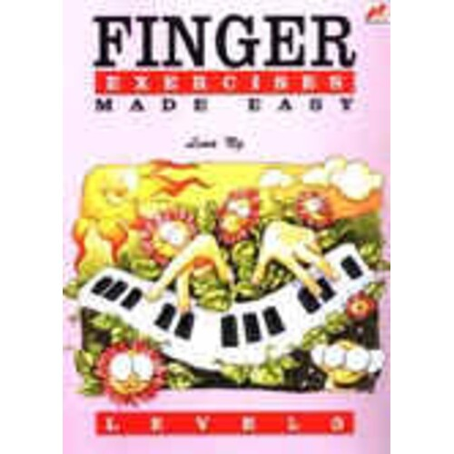 Finger Exercises Made Easy Level 3 (Softcover Book)