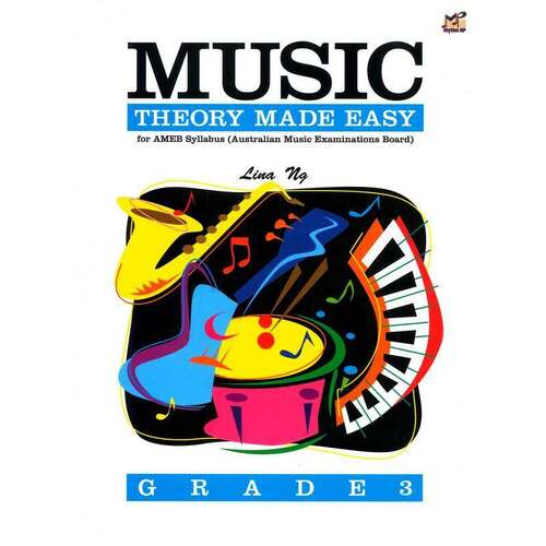 Music Theory Made Easy Gr 3 (Softcover Book)