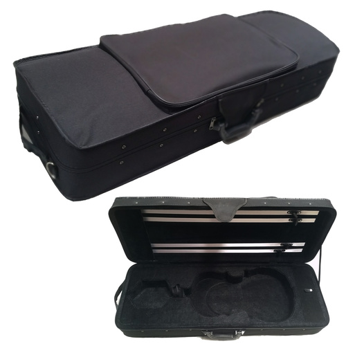 "Montanari MVCS44  Case FITS 4/4 Violin OR 14"" Viola"