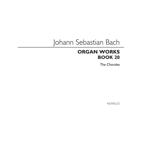 Bach Organ Works Book 20 (Softcover Book)
