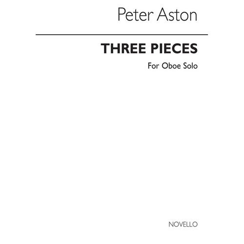 Aston - 3 Pieces For Oboe Solo (Pod) (Softcover Book)