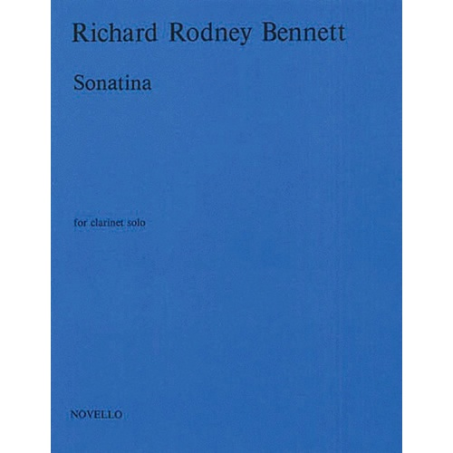 Bennett - Sonatina For Clarinet Solo (Softcover Book)