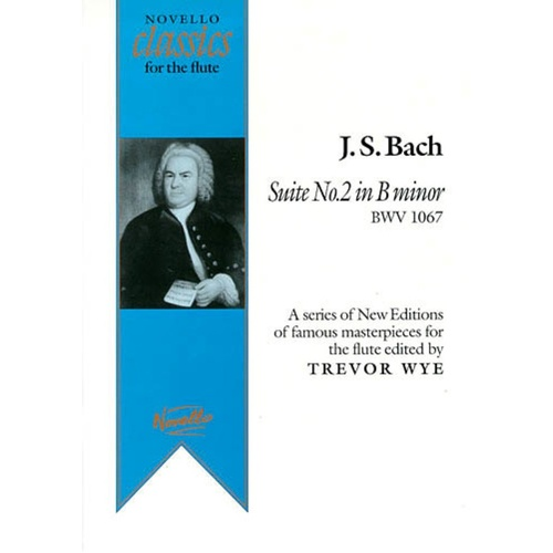 Bach Suite 2 In B Minor Flute/Piano Ed.Wye (Softcover Book)