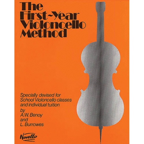 Benoy - First Year Cello Method (Softcover Book)