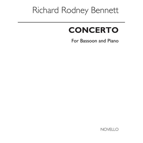 Concerto For Bassoon (Softcover Book)