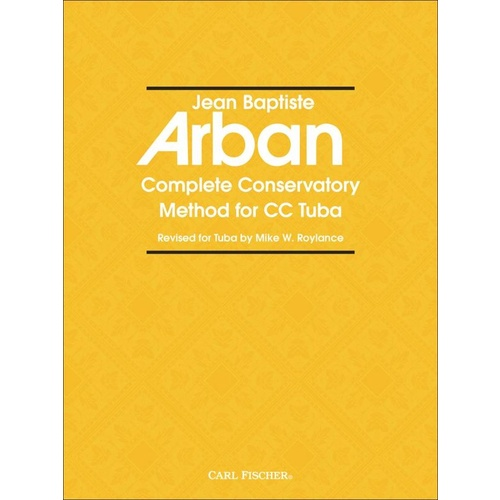 Arban Complete Conservatory Method For Tuba Book
