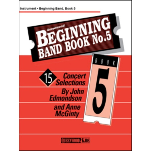 Beginning Band Book 5 Conductor /CD