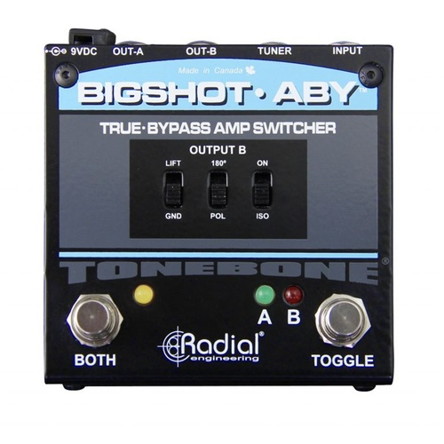 Radial BIGSHOT ABY - True Bypass ABY Selector