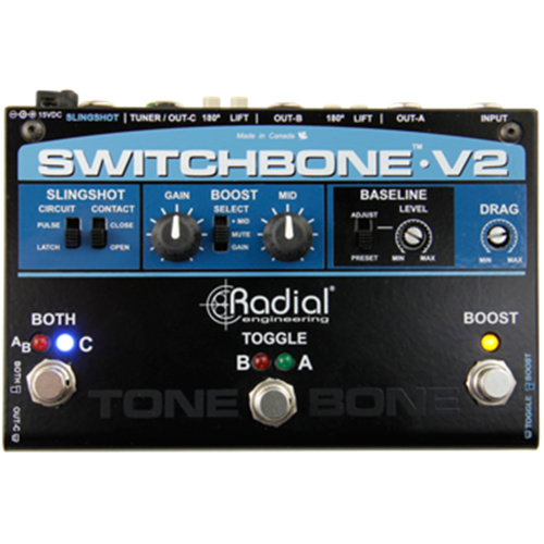 Radial SWITCHBONE V2 - ABY/C Amp Selector and Booster