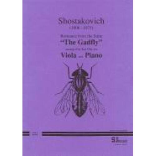 Romance From The Gadfly Op 97 A Arr Otty Vla Piano (Softcover Book)