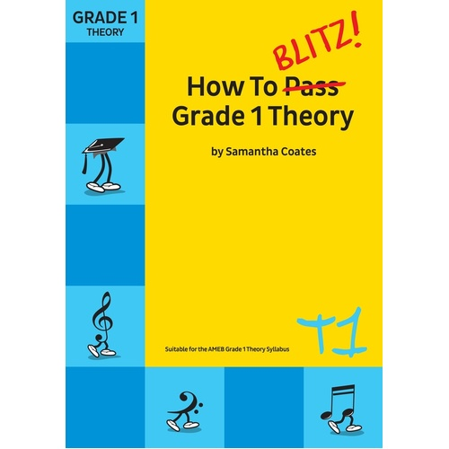 How To Blitz Theory Grade 1 (Softcover Book)