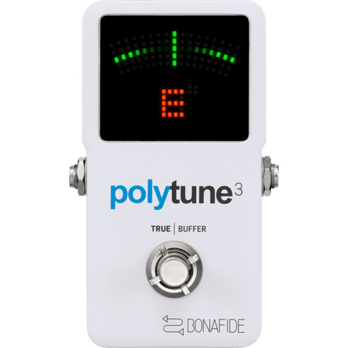 TC Electronic Polytune 3 Tuner with built in Bonafide Buffer