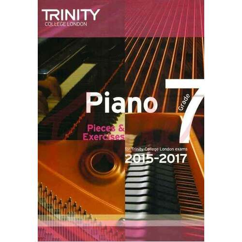 Piano Pieces and Exercises Gr 7 2015-2017 (Softcover Book)