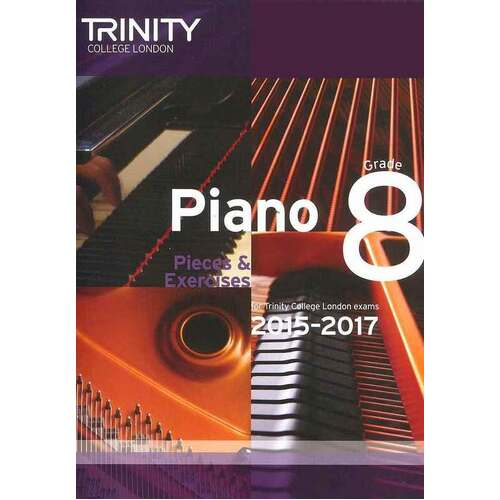 Piano Pieces and Exercises Gr 8 2015-2017 (Softcover Book)