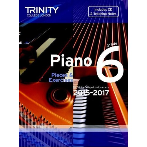 Piano Pieces and Exercises Gr 6 2015-2017 Book/CD (Softcover Book/CD)