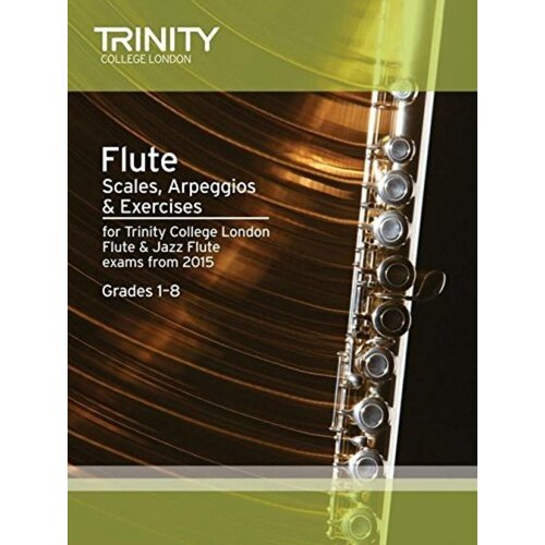 Flute Scales Arpeggios and Exercises Gr 1-8 From 2015 (Softcover Book)