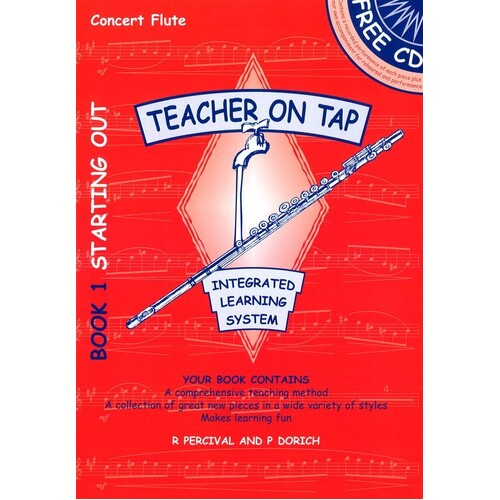 Teacher On Tap Flute Book 1 Book/CD (Softcover Book/CD)
