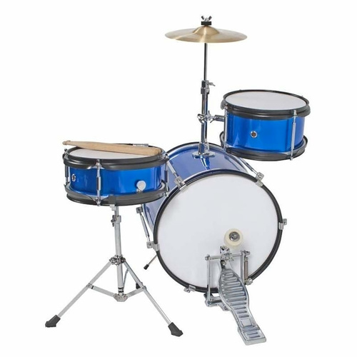 DXP 3 Piece Junior Drum Kit Metallic Blue