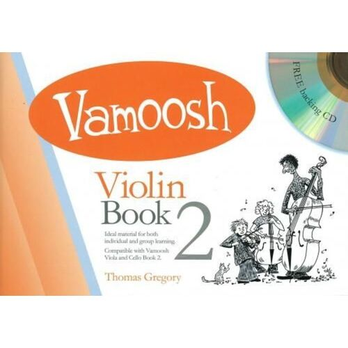 Vamoosh Violin Book 2/CD (Softcover Book/CD)